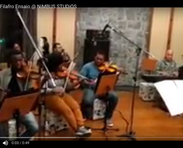 Orquestra Filafro Ensaio @ NiMBUS STUDiOS